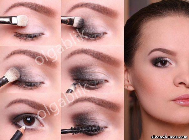 Как сделать правильно сделать макияж в домашних условиях пошаговое фото